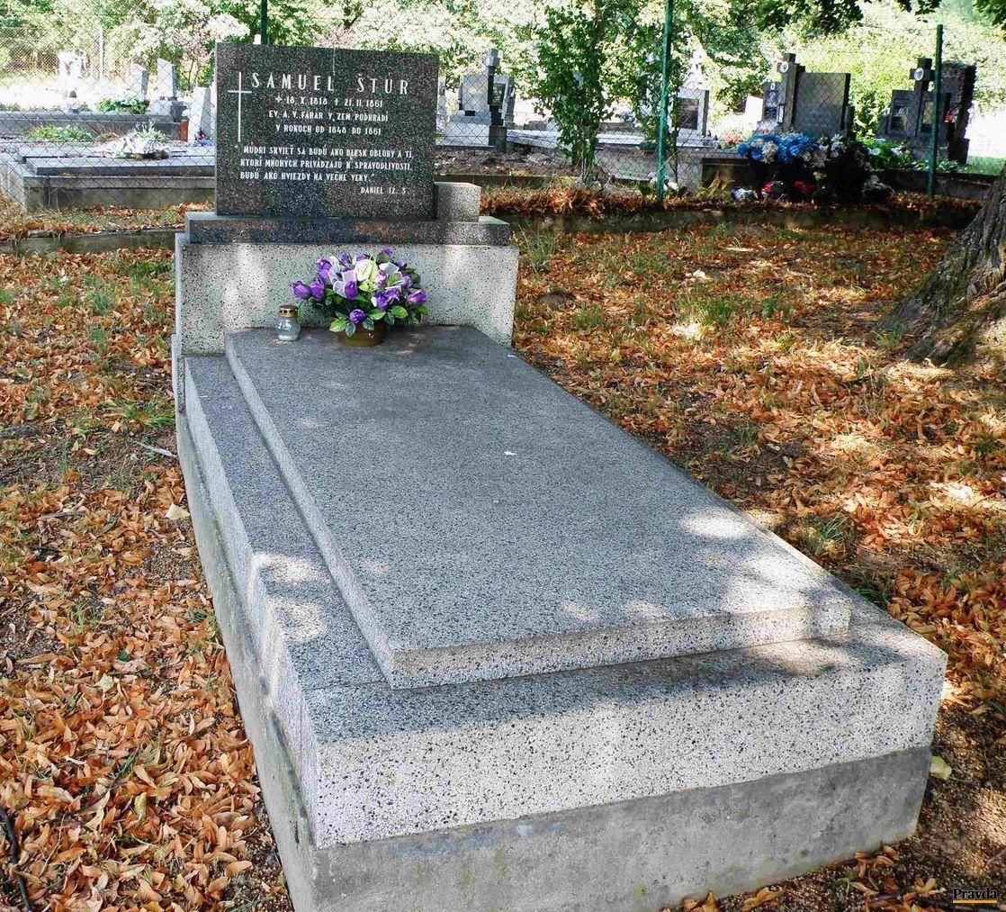 Hrob Samuela ml., Samka v Zemianskom Podhradí.
