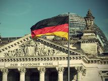 Nemecko, vlajka, Berlín, zástava, Bundestag, nemecký parlament, Merkelová