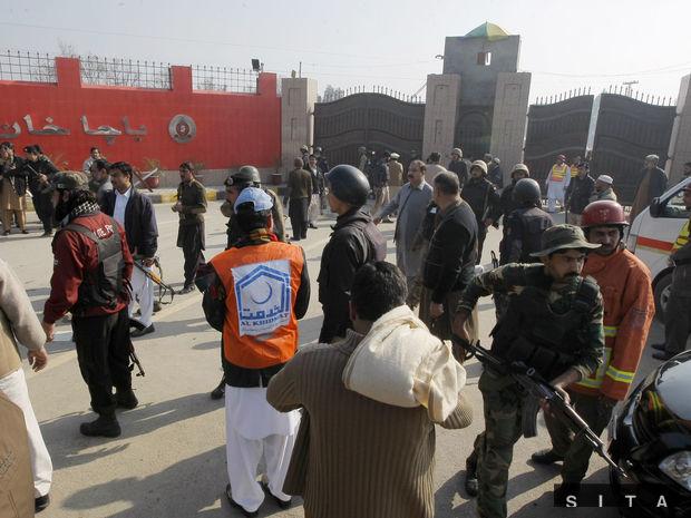 Pakistan, útok na univerzitu,