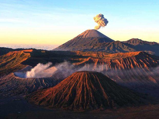 Mount Bromo, Indonézia