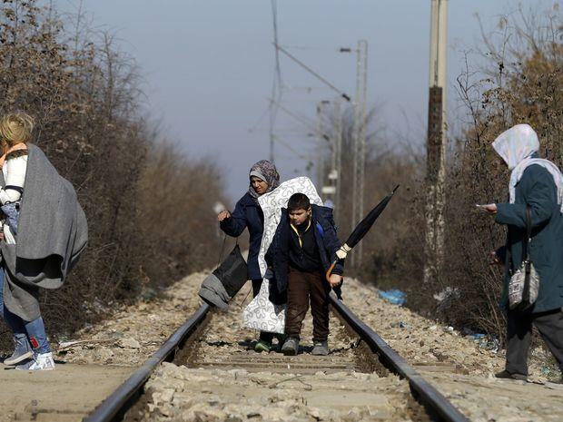 utečenci, macedonsko