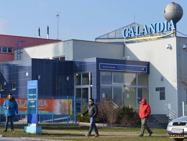 Galandia, Trnava, ruina