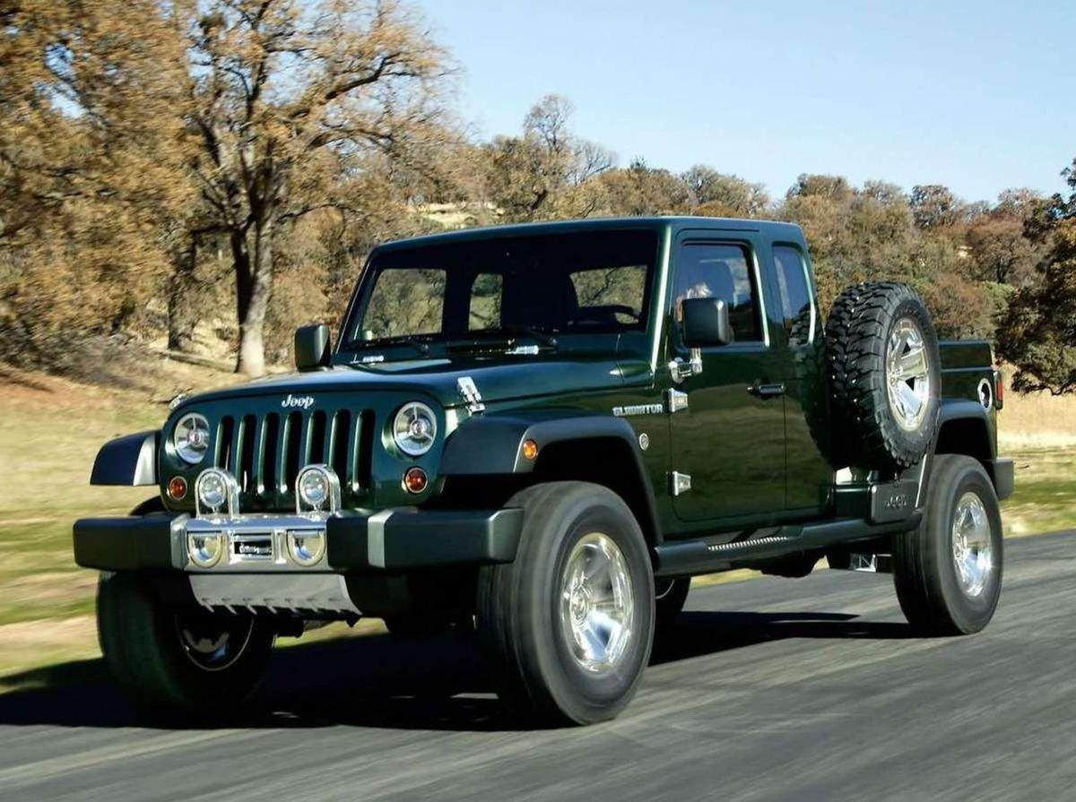 Posledný pikap vyrábal Jeep do roku 1992. Odvtedy sa objavili len koncepty. Ako napríklad tento Jeep Gladiator z roku 2005.