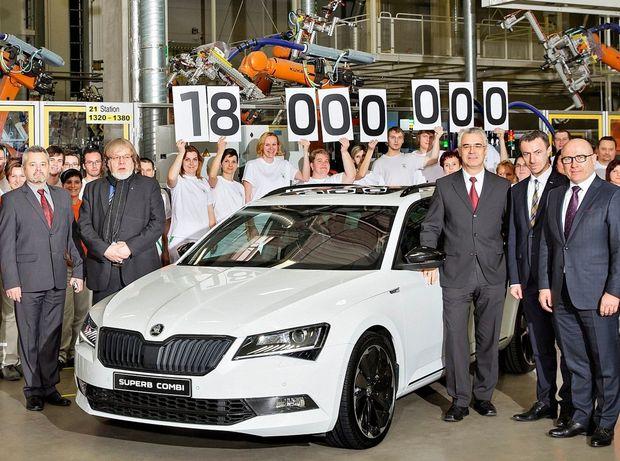 Škoda - 18 miliónov áut