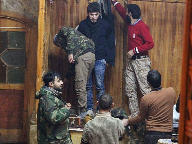 Sýria, bojovníci