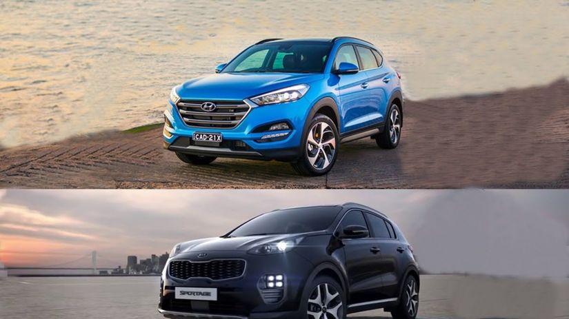 Kia Sportage Vs Hyundai Tucson Cenový Súboj Kórejských Suv Magazín Auto Pravda Sk