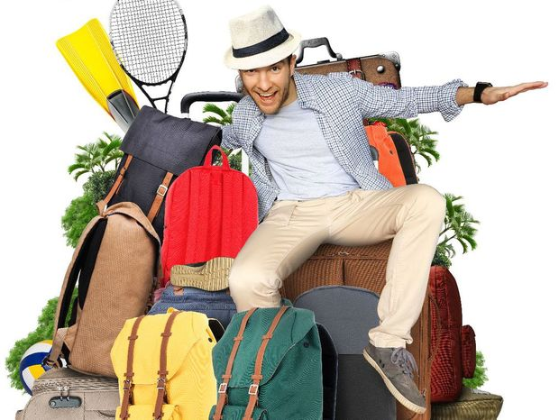 dovolenka, cestovanie, kufre, balenie, cestovateľ, cesta, ruksak, turista