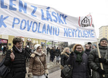 Košice, štrajk učiteľov