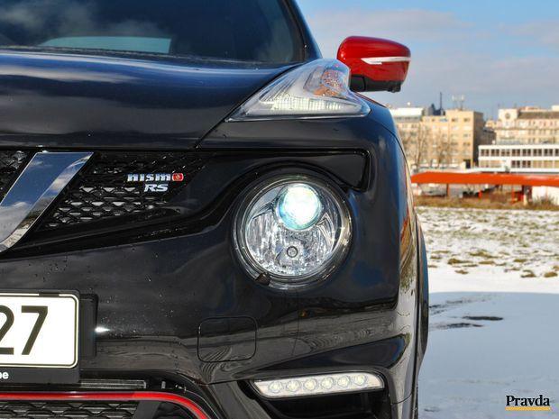 Dizajn Juku je rozpoznateľný medzi desiatkami iných áut.