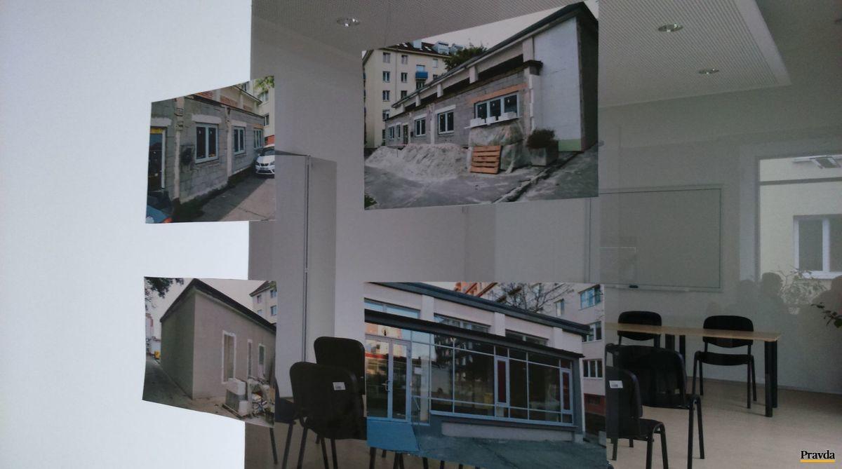 Fotodokumentácia rekonštrukcie komunitného centra.