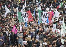 Taliansko, protest