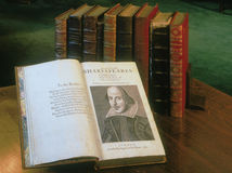 Shakespeare, kniha, Washingtonská knižnica