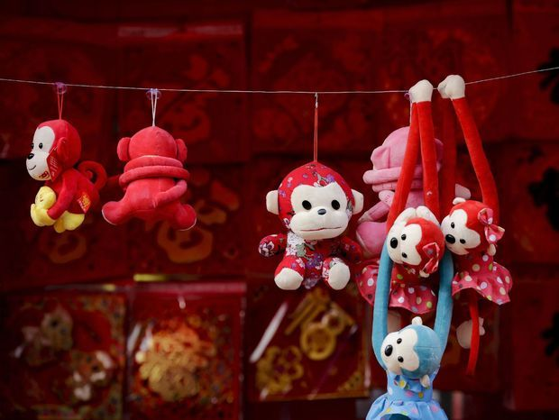 Nadchádzajúci čínsky nový rok bude rokom opice. Číňania privítajú nový rok 8. februára.