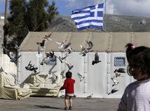Grécko, migranti, Kalymnos,