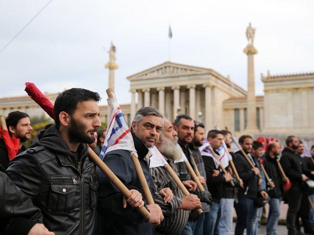 Grécko, štrajk