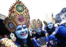 Kolín nad Rýnom, karneval, fašiangy, maska