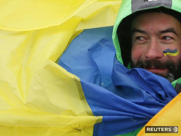 Ukrajina, vlajka, ukrajinská zástava,