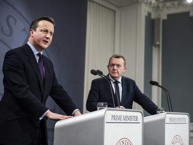 Dánsko, Británia, Cameron