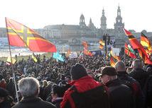 Nemecko, demonštrácia, pegida