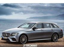 Mercedes-Benz E Combi - 2017 ilustrácia