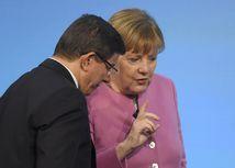 Angela Merkelová, Ahmet Davutoglu