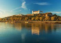 Bratislava, Bratislavský hrad, Dunaj, parlament
