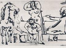 Pablo Picasso, Maliar pri mori