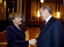 Erdogan, Merkelová