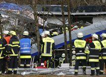 havária vlaku