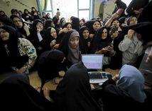 Irán, voľby, ženy