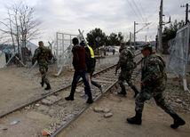 Mcedónsko, migranti, utečenci
