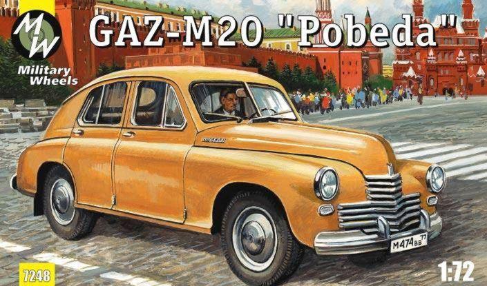 Volga GAZ  21 nahradila vo výrobnom programe starú Pobedu, ešte s drevenými časťami karosérie a deleným čelným oknom.
