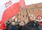 Poľsko, protest, migranti