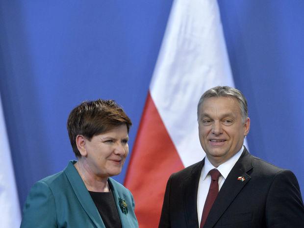Szydłová, Orbán