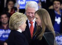 Hillary Clintonová, Bill Clinton, Chelsea Clinton