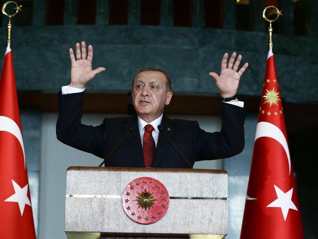Turecko, prezident, Erdogan