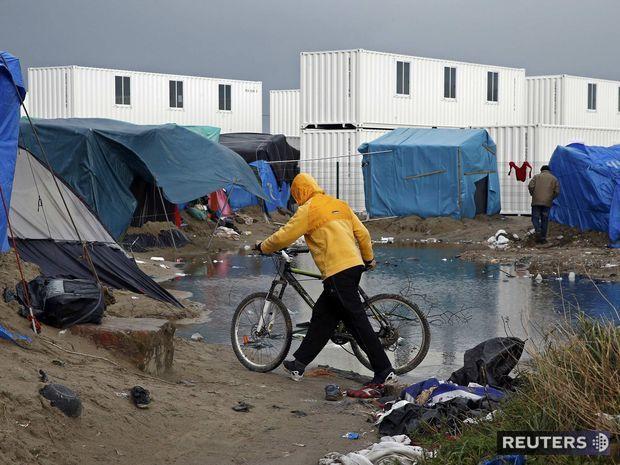 utečenci, tábor