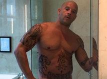 Herec Vin Diesel na zábere z Instagramu.