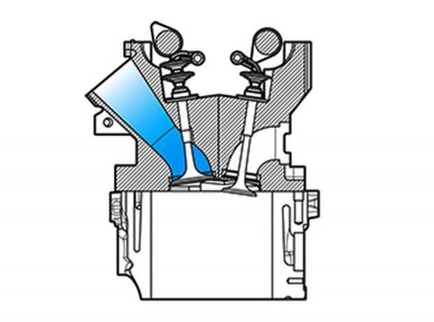 Autori projektu sú pyšní aj na tvar spaľovacej komory a konfiguráciu ventilov. Práve to sa vraj podieľa na vysokom výkone až 186 kW, a to bez pomoci turbodúchadla.