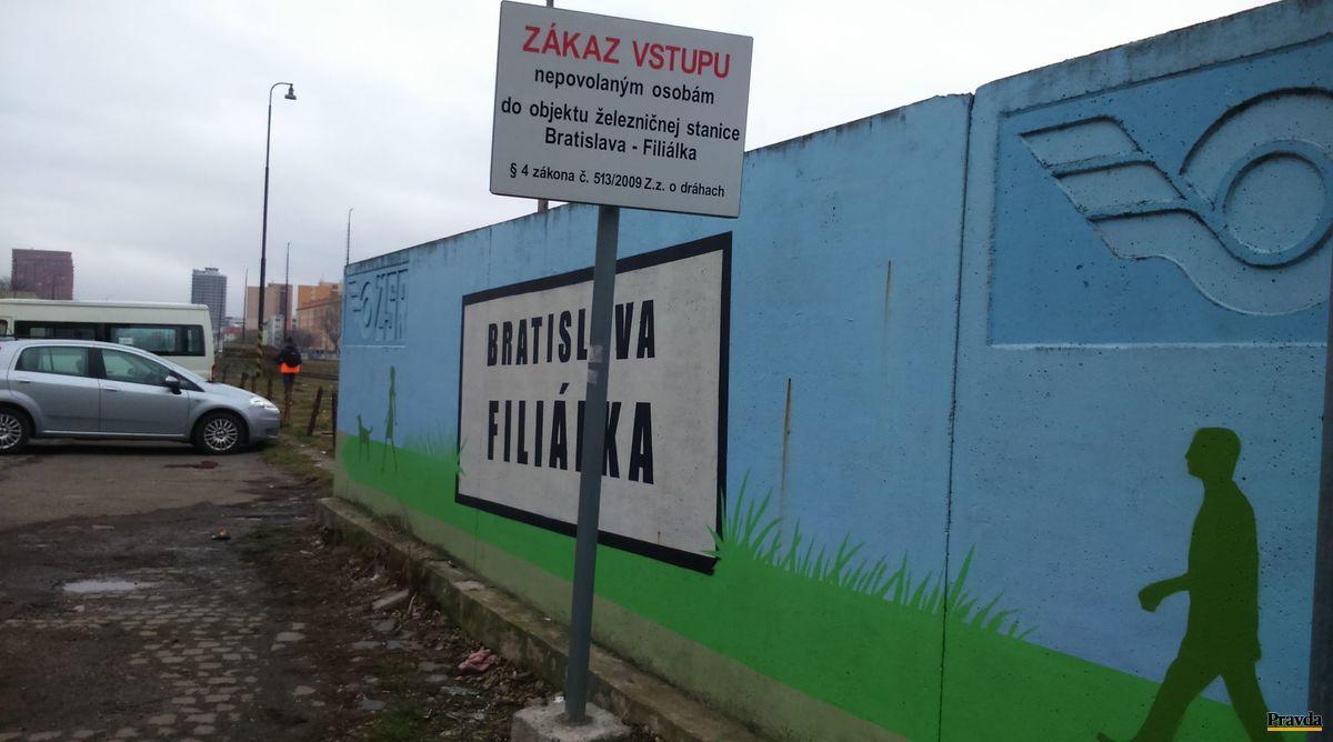 Filiálka medzi Trnavským a Račianskym mýtom v širšom centre Bratislavy.