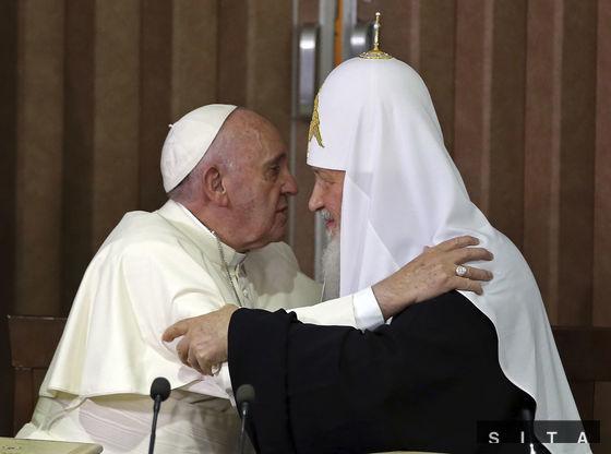 Patriarcha moskovský a celej Rusi Kirill a pápež František na Kube podpísali spoločnú deklaráciu o výsledkoch svojho historického stretnutia.