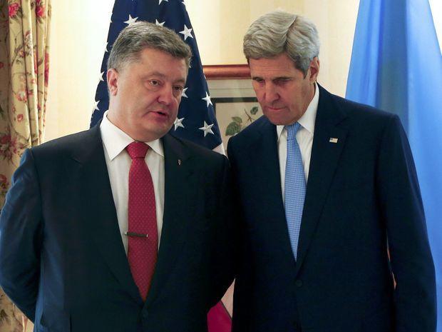 Petro Porošenko, John Kerry, Mníchovská konferencia