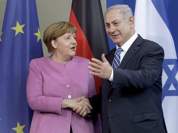 Angela Merkelová, Benjamin Netanjahu