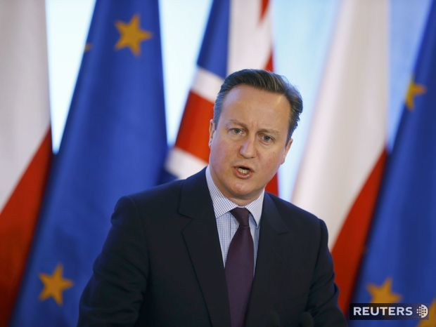 Británia, David Cameron