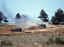 Turecko, Sýria, hranice, tanky