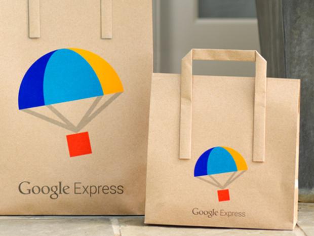 google express, doručovanie tovaru, nákup