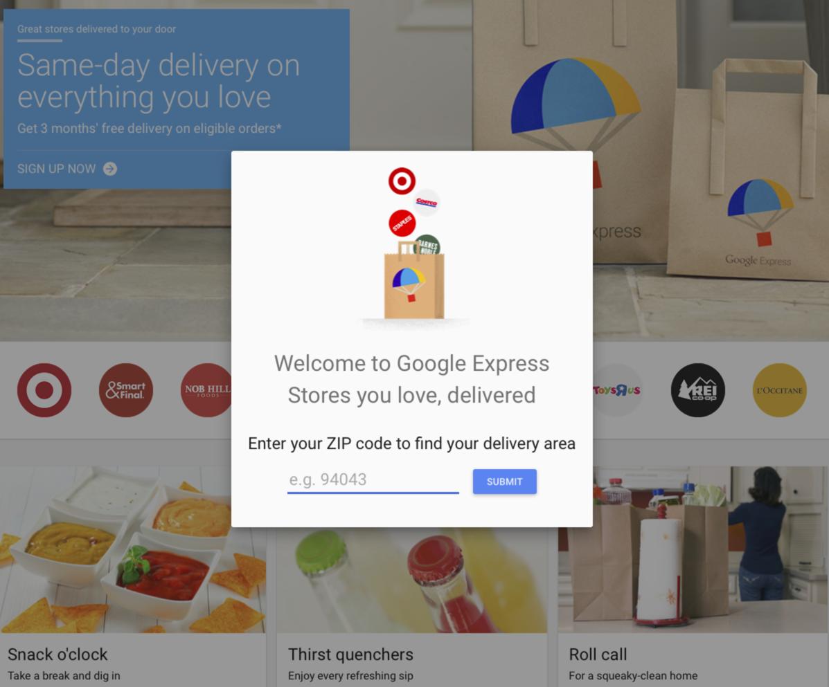 Google už začal s doručovaním čerstvých potravín