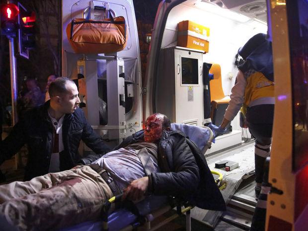 Turecko, výbuch, Ankara