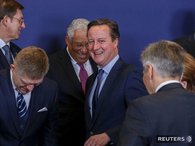 Británia, summit, Eú, Cameron