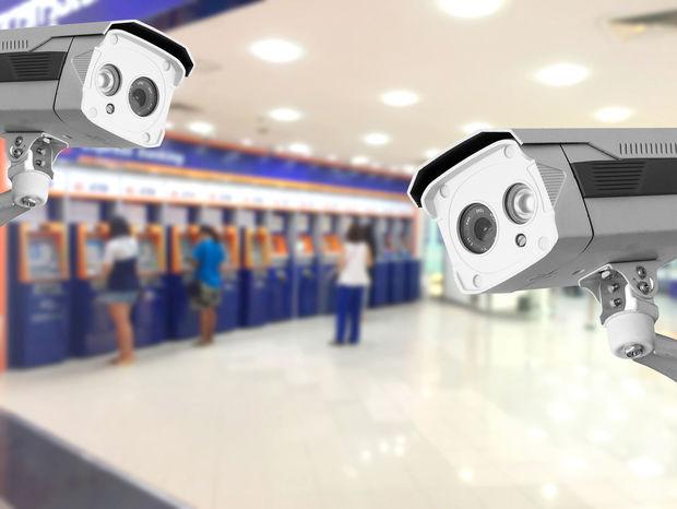 kamera, banka, krádež
